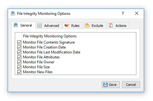 File Integrity Monitoring Command