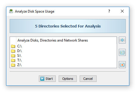 Disk Space Analysis Command