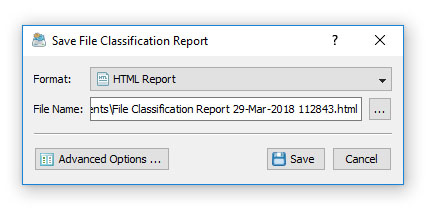 DiskBoss Save File Classification Report